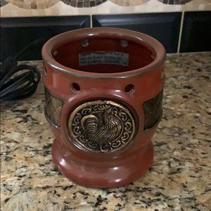 Scentsy Aia Rooster Wax Melt Warmer